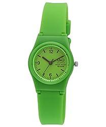Q&Q Analog Green Dial Womens Watch - VP47J018Y