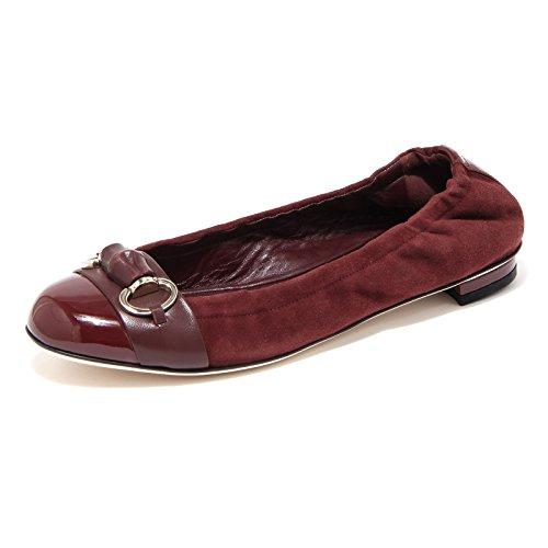 79596 ballerina GUCCI VERNICE NAP CHR scarpa donna shoes women [36.5]