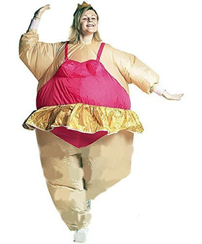 Edealing 1PCS Inflatable Ballerina Fancy Dress Costume Fat Suit Stag Hen Night Outfit  sc 1 st  TheFindom & Fat ballerina costume | Shop TOP Sale Fat ballerina costume at ...