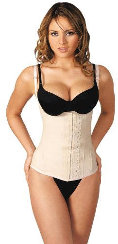 Agatha Girdle with Shoulder Straps, Beige / Size 36(Large)