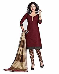 5 star cotton unstich chudidar salwar suit duppata dress material FREE DELIVERY