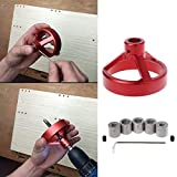 NJPOWER 6/7/8/9/10mm Joinery System Kit Vertical Hole Jig Drilling Guide Fast Woodwork R25 Drop ship