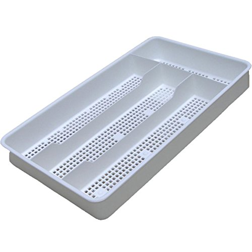 Cutlery Tray - Single (White) (1 1/2