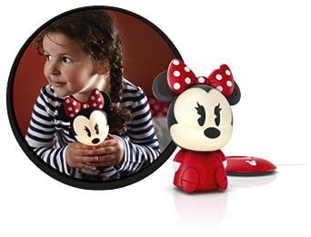 717103116 Philips Disney Minnie Maus LED Nachtlicht rot