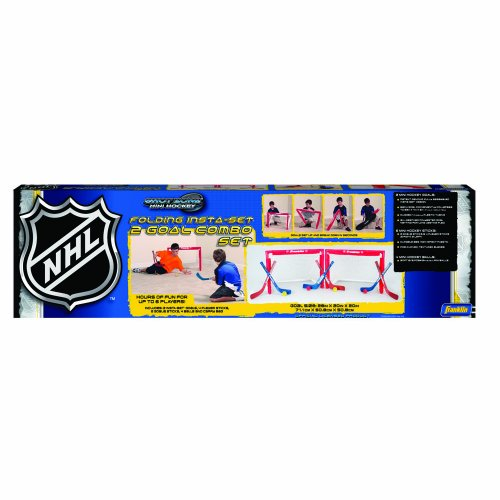 Franklin NHL Set of 2 Mini Hockey Goals