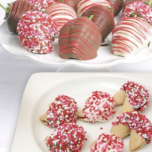 Berries and 6 Personalized Fortune Cookies