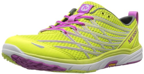 Merrell Women's Bare Access Arc 3 Trail Running Shoe,High Viz/Purple,5 M US