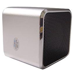 Original Music Angel JH-MD06D TF card Portable Mini Digital Speaker W/ Download Function Siliver