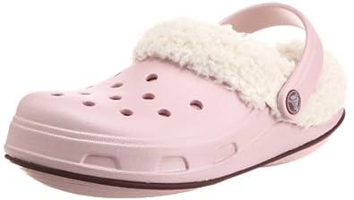 [クロックス] crocs Crocstone TM Julia Lined Clog 11668-64L-409 cotton candy/burgundy (cotton candy/burgundy/W4/20cm)