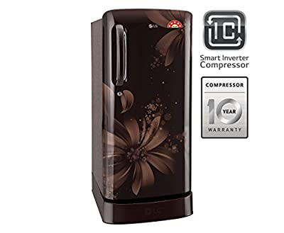 LG GL-D221AHAI.DHAZEBN Direct-cool Single-door Refrigerator (215 Ltrs, 5 Star Rating, Hazel Aster)
