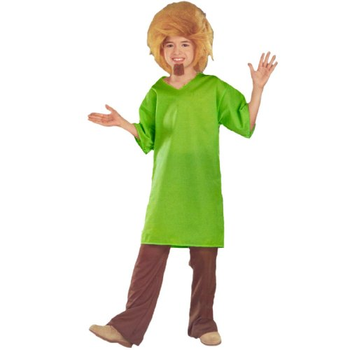 Scooby-Doo Shaggy Child Costume Brown/Green Mediu