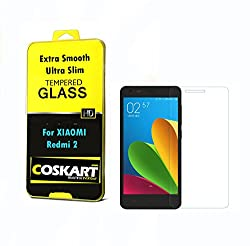 Coskart Tempered Glass For Xiomi Redmi 2