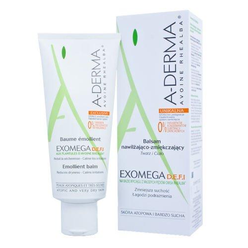 A-derma Exomega - Emollient Balm 200ml -D.e.f.i Sterile Treatment Beauty Skin