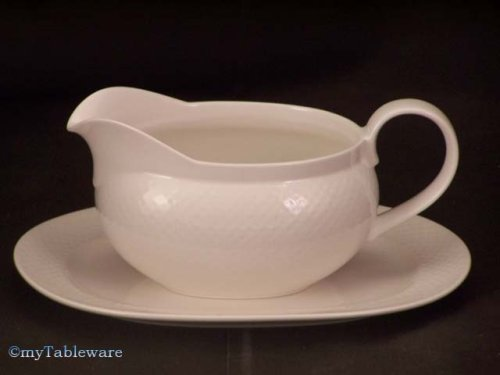 VILLEROY & BOCH TIPO WHITE GRAVY BOAT WITH TRAY - 2 PC - Buy VILLEROY & BOCH TIPO WHITE GRAVY BOAT WITH TRAY - 2 PC - Purchase VILLEROY & BOCH TIPO WHITE GRAVY BOAT WITH TRAY - 2 PC (VILLEROY & BOCH - FINE CHINA - EASY COLLECTION - M, Home & Garden, Categories, Kitchen & Dining, Tableware)