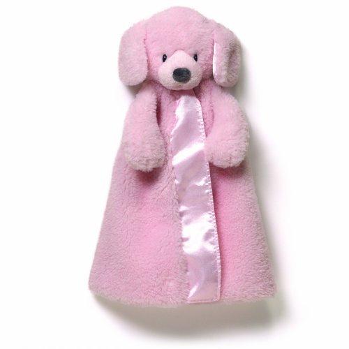 Gund Baby Fluffey Huggybuddy Blanket, Pink by Gund Baby - 1