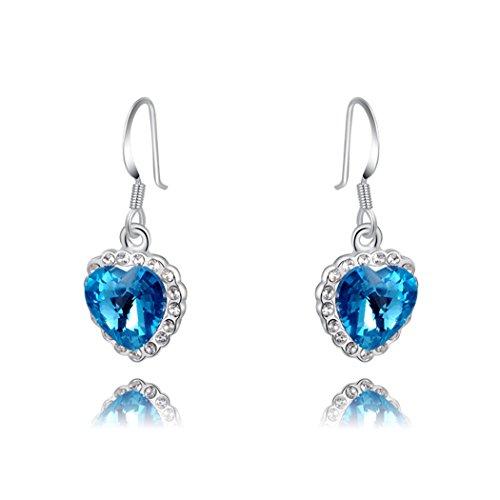 duo-la-elegante-plata-de-ley-heart-shape-circonita-cubica-azul-lady-pendientes-largos