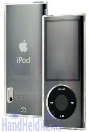 Apple iPod Nano 5th Generation (with Camera) Transparent Clear Snap On Crystal Plastic Hard Cover Case
