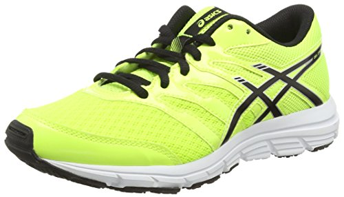 ASICS Gel-Zaraca 4 Gs, Scarpe Unisex Da Corsa, Colore Giallo (Flash Yellow/Black/Silver 0790), Taglia 37 EU (3.5 UK)