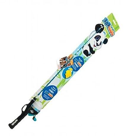 Zoo kids children 39 s spincast combo fishing pole panda 5 for Fishing poles for kids