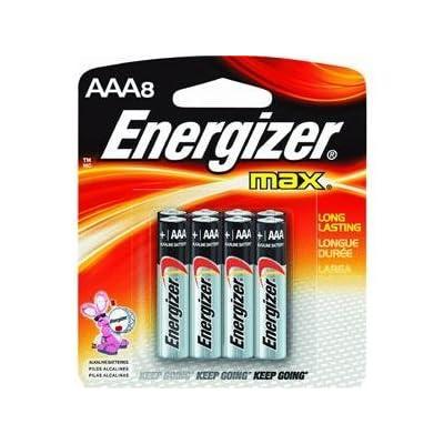 Energizer Max Alkaline Batteries 8 ea