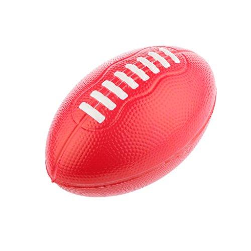 Football Americano Bambini All'aperto Giochi Sport Palla Rosso 12cm PU Schiuma