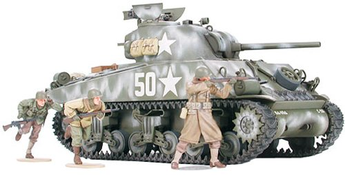 Tamiya Models M4A3 Sherman Model Kit (Tamiya Model Kits compare prices)