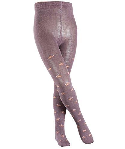 falke-madchen-strumpfhose-crown-violett-greyish-plum-8203-134-herstellergrosse-134-146