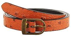 Garvan Women's Tan Leather Belt (LBW 9-Tan, Size : 34)