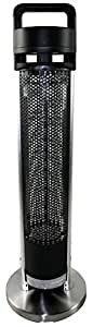 HETR H1014UPS Indoor/Outdoor Rated Radiant Tower Heater,