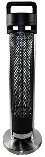 HETR H1014UPS Indoor/Outdoor Rated Radiant Tower Heater, 36-Inch (Outdoor Heater Radiant compare prices)