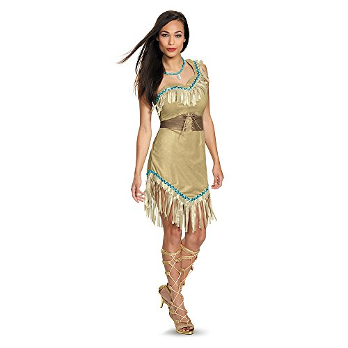 Disguise Women's Pocahontas Deluxe Adult Costume