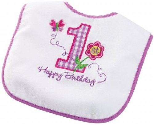 Party Destination 164112 Girls 1St Birthday Bib