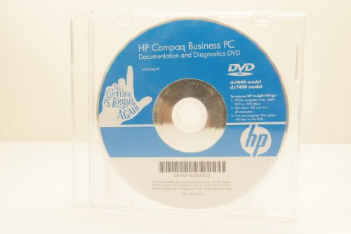 HP Hewlett Packard Compaq Business PC Documentations
