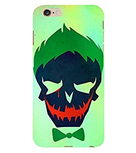 Skeleton With Hair gel 3D Hard Polycarbonate Designer Back Case Cover for Apple iPhone 6S :: Apple iPhone 6S