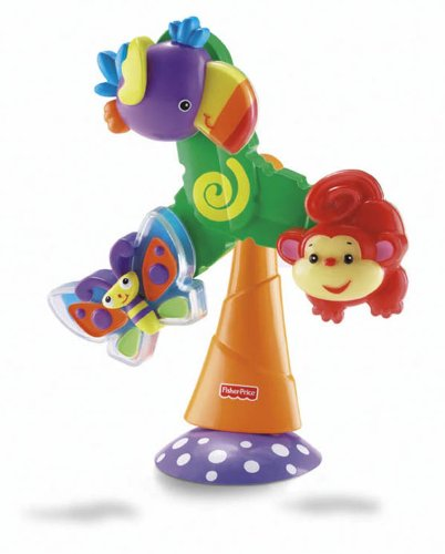 Fisher-Price Rainforest Twist u0026 Spin Suction Toy  sc 1 st  Babaloo UK & High Chair Toys | Baby High Chair Toys | Brio High chair Toy - Babaloou0027