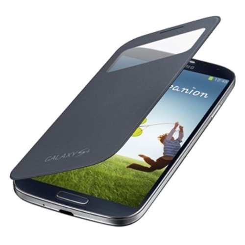 SAMSUNG GALAXY S4 SC-04E用 純正ケース S View Cover ブラック EF-CI950KBEGN