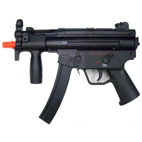 Well MP5K G55 Gas Blowback Airsoft Rifle