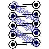 Dimension W(ディメンションダブリュー) 百合崎ミラ コスプレ用タトゥーシール
