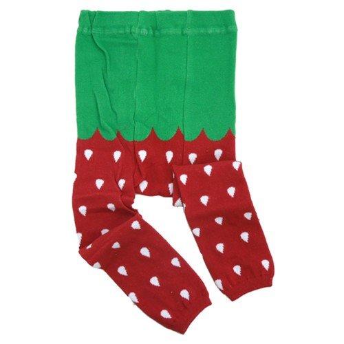 Strawberry/いちご(85cm 95cm)ベビースパッツ☆可愛い子供用タイツ/パンツ/レギンス通販☆【85cm】