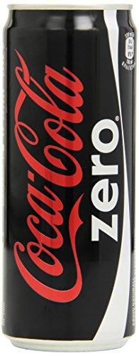Coca Cola - Zero, Bevanda Analcolica Senza Calorie, 330 ml