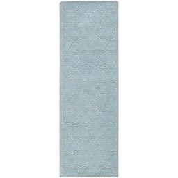 Safavieh Chatham Collection CHT942G Handmade Grey Wool Area Rug, 2 feet 3 inches by 5 feet (2\'3\