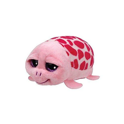 ty-beanie-baby-ty42145-teeny-tys-shuffler-schildkrote-8-cm-pink