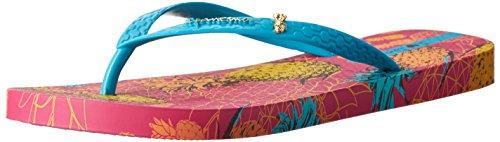 Ipanema Women'S Pina Flip Flop, Pink/Blue, 5 M Us