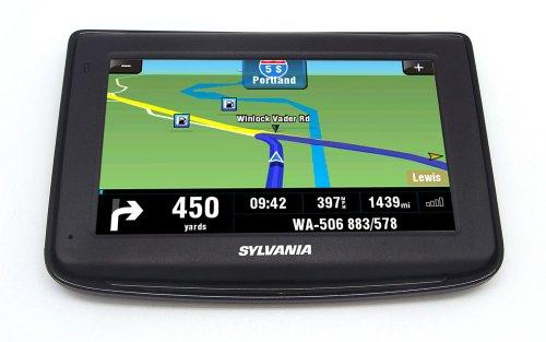 Sylvania 4.3-Inch GPS Navigation System