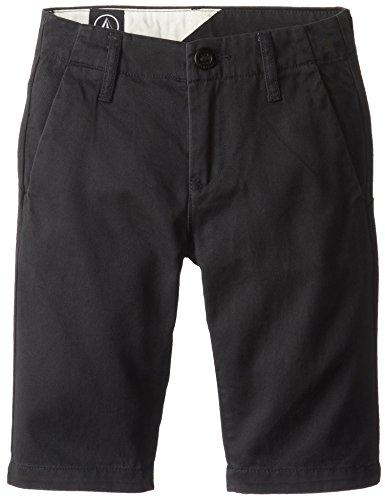 Volcom Pantaloni corti da uomo sfaccettati C0931402CMS, Ragazzo, Kurze Hose Faceted Shorts, nero, 26