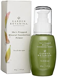 Garden Botanika She's Prepped Mineral Foundation Primer, 1.41 Ounce from Garden Botanika