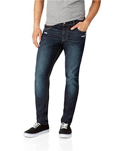 Aeropostale Mens Stanton Super Skinny Fit Jeans 189 32X30