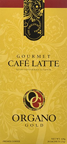 2 Boxes of Organo Gold Ganoderma -Gourmet Café Late (20 sachets per box)