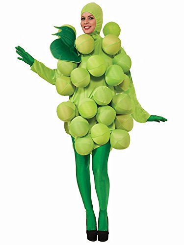 Green Grapes Adult Costume