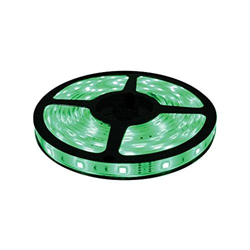 Brilliant Brand Lighting Seasonal Decoration Green Brilliant Brandled Strip Light Smd-5050 12-Volt 16.4' Spool Waterproof Ip67 front-718420